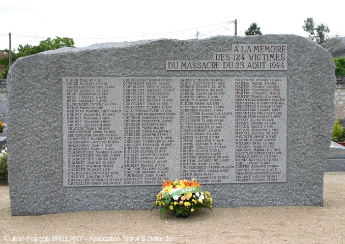 Image : 25 août 1944 - Maillé, village martyr.